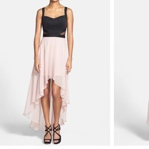 Hailey Logan High Low Chiffon Dress